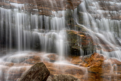 Lower Falls at Graveyard Fields off the Blue Ridge Parkway