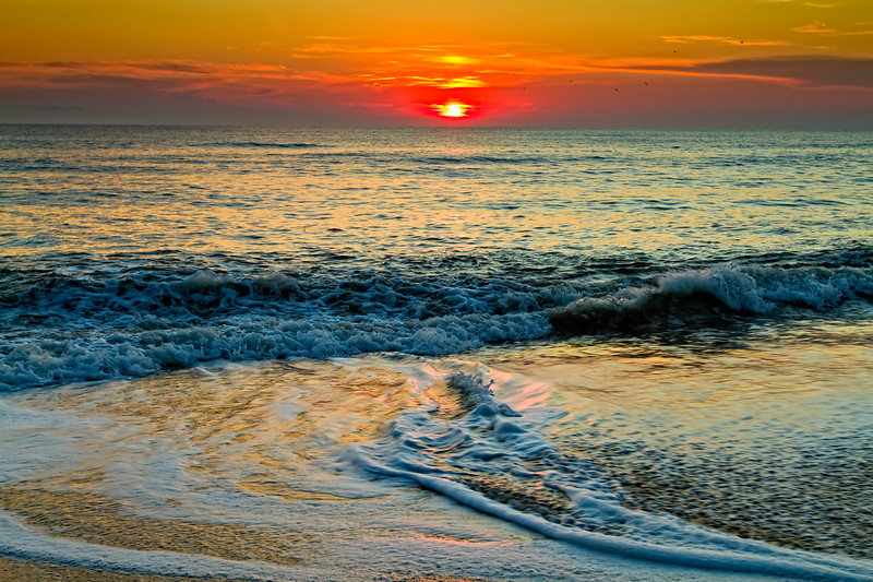 The Luminous Sea<br /> Sunrise Outer Banks North Carolina