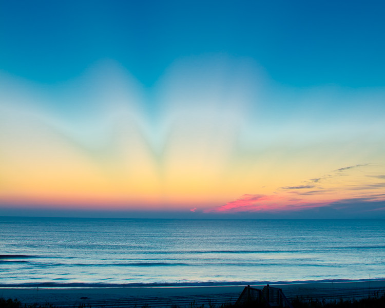 Sunrays<br /> Sunrise Sunrays Outer Banks, North Carolina