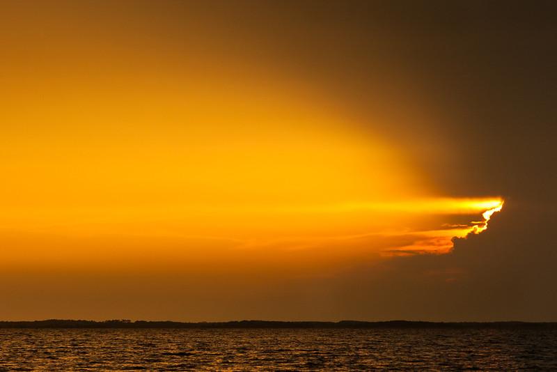 Sunset on Currituck Sound