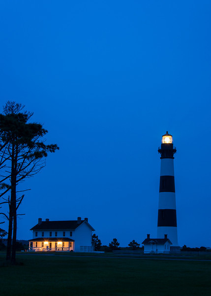 Bodie Island Lighthouse  Before Dawn