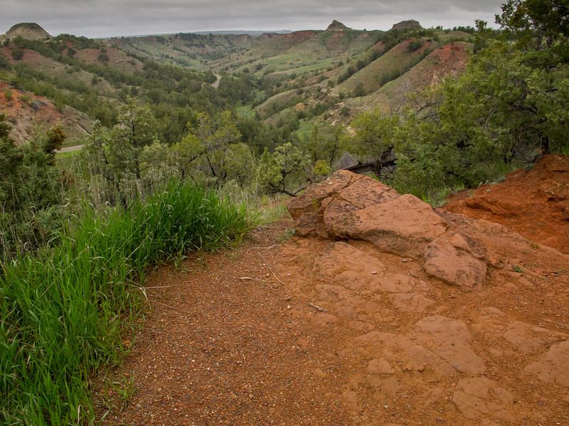 Scoria Point Overlook<br /> Theodore Roosevelt National Park, North Dakota