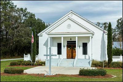 Macedonia Baptist Church in Lee, Florida.