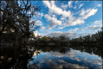 The curve in the Withlacoochee river at Chitty Bend.