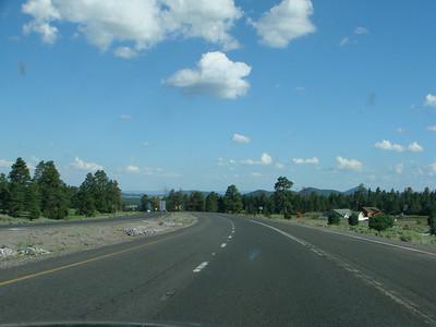 Page, AZ to Prescott, AZ 2010, August