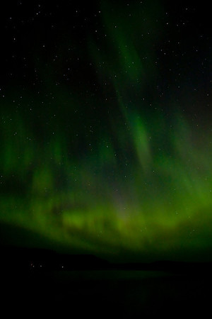 #1:  Northern Lights over North Fowl Lake, Canada; July 14, 2012.