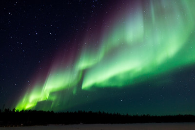 Aurora over Yellowknife, NWT, March 10, 2013