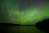 #4:  Northern Lights over North Fowl Lake, Canada; July 14, 2012.
