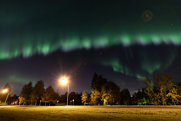 Northern Lights, Oulu 14.09.2018