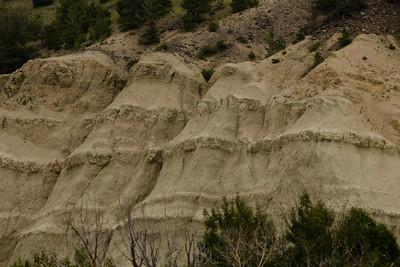 Sediments from the Playa Lake, Paradise Valley. Hepburn Mesa.