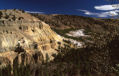 Tower area over view of the Yellowstone Canyon