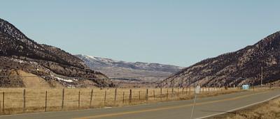 Rock Canyon. Gallatin Range on the left, Absaroka Range on the Right.