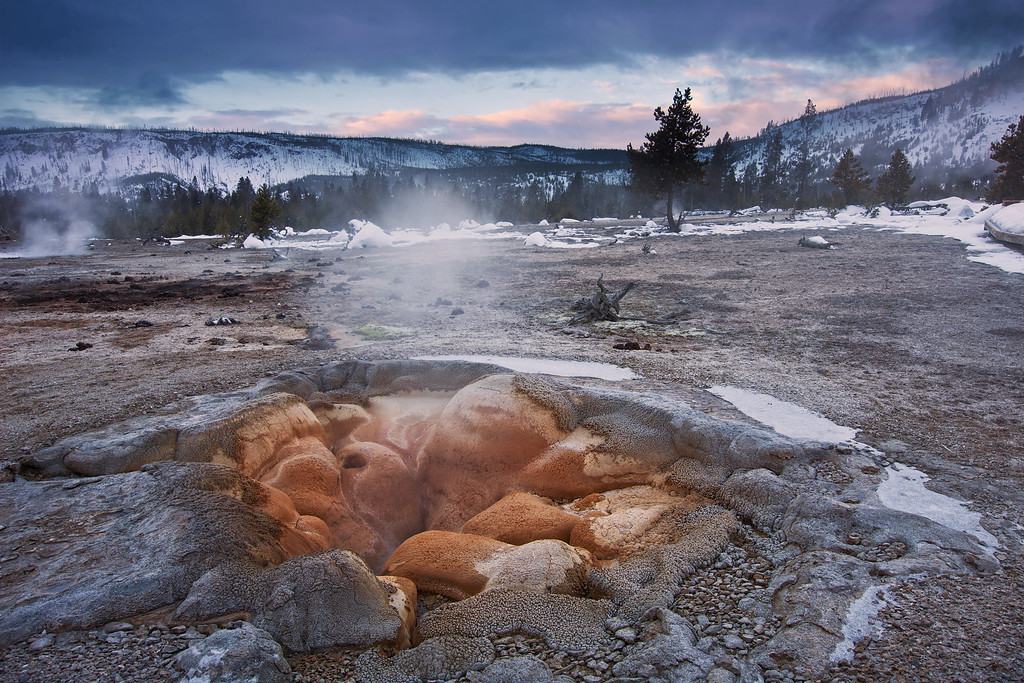 Shell Geyser, Biscuit Basin