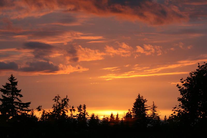"Amazing Oregon sunset June 09<br /> ""Peace"""