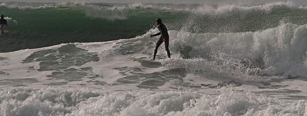 Ocean Beach Surfers