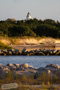 Ocracoke Lighthouse.