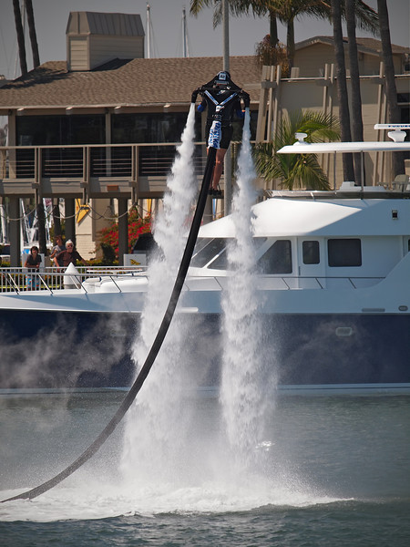 JetLev in action at Alamitos Bay - 1 July 2012