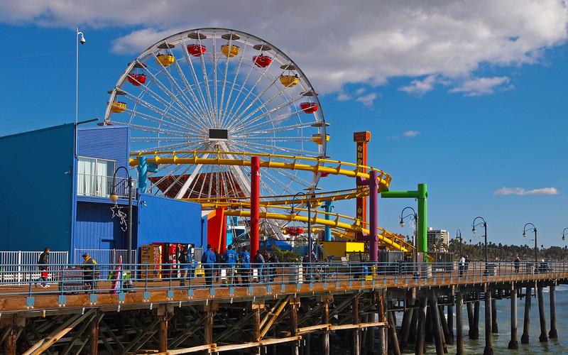Santa Monica Pier - 28 Nov 2010