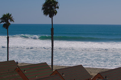 Oceanside Waves August 31 2011