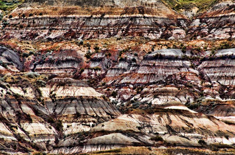 Rock formations, Drumheller, Alberta