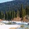 Pine River in the Pine Pass, Noerheastern BC.
