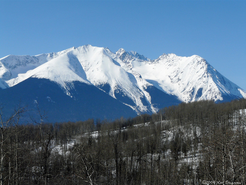 Mountains around Smithers, BC