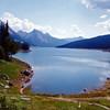 Spirit Lake in Jasper National Park, Jasper, AB.