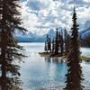 Spirit Lake in Jasper.