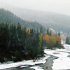 Pine River east of Chetwynd, BC.