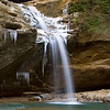 Lower Falls Old Man's Cave - Hocking Hills SP