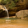 Lower Falls - Hocking Hills SP