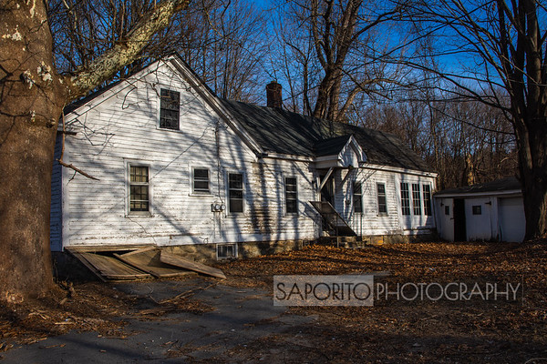 Windham, NH abandoned home