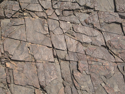 Oman: Rock formation