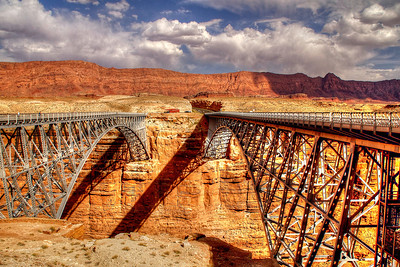 Navajo Bridge  Marble Canyon, Arizona