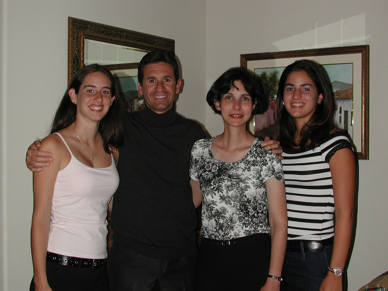 These are my favorite girls.  From left to right: Ana Maria, Anna, and Nicole. San Francisco, 2003