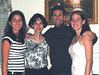 Here I am with my favorite and closest women.  From Left to right:  Nicole, Ana, Felipe and Ana Maria - 2002