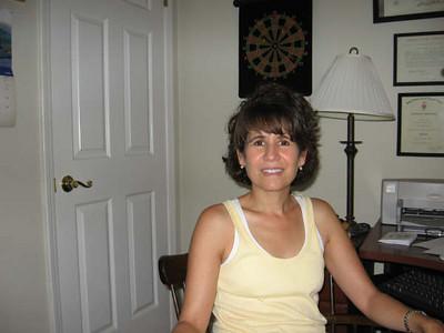 My sister Elena at home in Atlanta