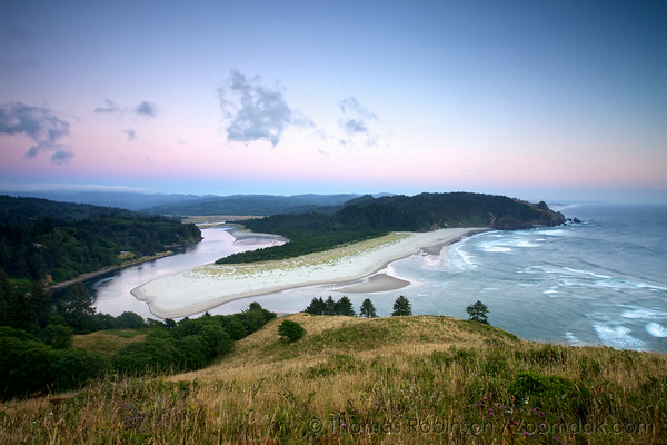 Cascade Head at Twilight
