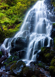 Fairy Falls, Columbia River Gorge  Print size 5 x 7 $14.00 USD 8 x 10 $20.00 USD 8 x 12 $20.00 USD 11 x 14 $28.00 USD 12 x 18 $35.00 USD 16 x 20 $50.00 USD