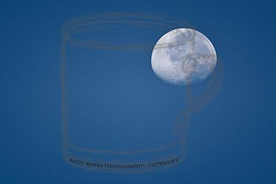 7:17am moon over the park. 28Aug10
