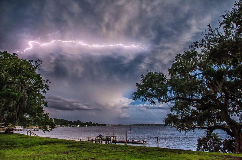 Lightning and Oaks