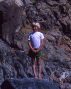 That's me, the first time in Limekiln 1978.