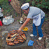 """The chefs from the """"Finca"""" prepared a wonderful Nicaraguan picnic for us - General Nestor's Farm"""