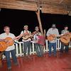 Local musicians entertain the birders after a day of hiking. Finca Esperanza Verde