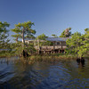 A lake home.