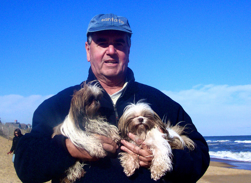 Meet my two little girls, Mitzi (L) and Molly (R)................ NC's Outerbanks in November.