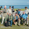 """Our """"Naturescape"""" group at Fort Desoto."""