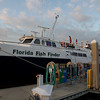 The bow of the 105 foot ship, Florida Fish Finder, our home for three nights.