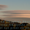 Clouds near Mt Diablo