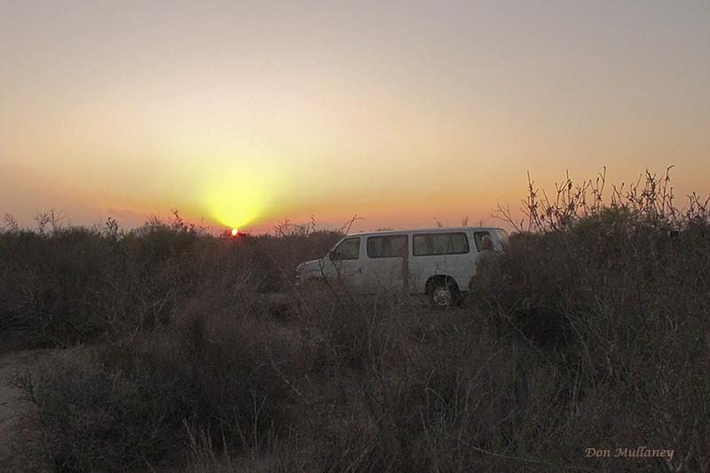 Sunrise on the Santa Clara Ranch